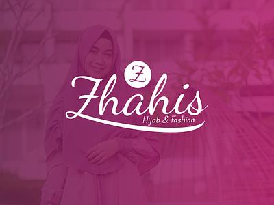 Zhahis Hijab & Fashion Logo religion feeds vector typography desain lettering branding design logo