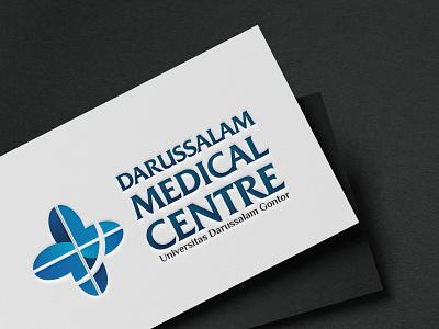 Logo Darussalam Medical Centre instagram post medical desain feeds vector branding logo