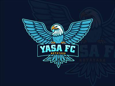Yasa Footbal Club Logo vector football logo design