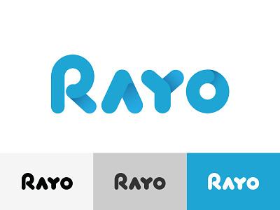 Rayo logo concept concept branding logo
