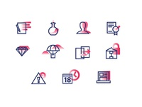 Gradient Icons