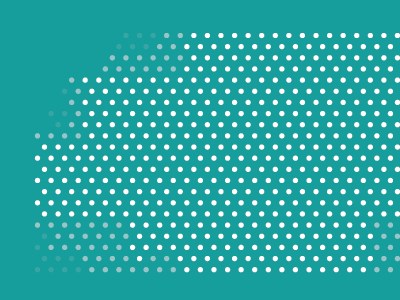Dot decay teal dots pattern opacity