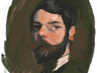 Color study (after John Singer Sargent)