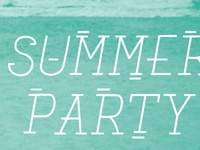 Pinterest Summer Party