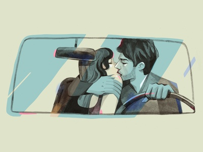Love is in the air - #dribbbleweeklywarmup