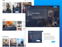Website for educational center