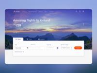 Flight booking website for Air Jet