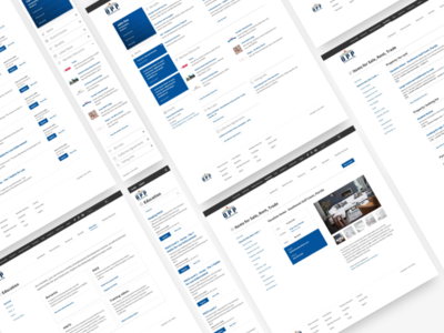 Member portal website website government information web app portal member clean minimal ux ui