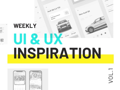 Weekly UI & UX Inspiration vol. 1 typography article blog layout inspiration ux ui
