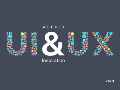 Weekly UI & UX Inspiration vol. 3 simple minimal typography article blog layout inspiration ux ui