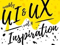 Weekly UI & UX Inspiration vol. 4