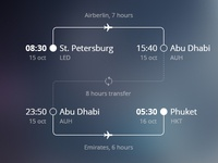 Flight Details city infographic transfer ui ticket time arrive deparute flight scheme