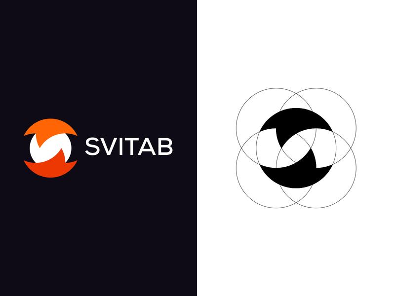 Svitab-Brand Logo Design graphic design clean symbol social media logo designer brand design brand identity 2020 concept vector branding design branding logo design abstract
