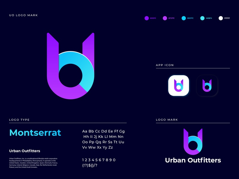 UO modern letter logo design concept | UO modern logo uo logo uo letter app icon branding design technology pro logo modern modern logo logo mark logo design logodesign logo agency logo a day illustration branding colorful concept gradient brand identity abstract