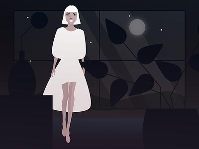 NIGHT white dark night illustration art illustrations graphics digital graphic digital illustration affinity designer affinity digitalart art illustration poster design artwork digital graphicdesign digitalgraphic graphic