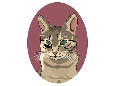 CAT design art affinity designer affinity illustrator portrait art portrait kitty petportrait pet cat digitalart poster digital art illustration artwork digitalgraphic design graphicdesign graphic