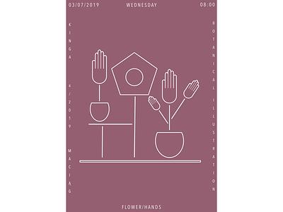 HANDS typography affinity designer digitaldrawing digitalartwork botanic branding vector picture art design digitalart artwork affinitydesigner affinity illustration digital poster digitalgraphic graphic graphicdesign