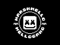 Marshmello Pixel Mellogang