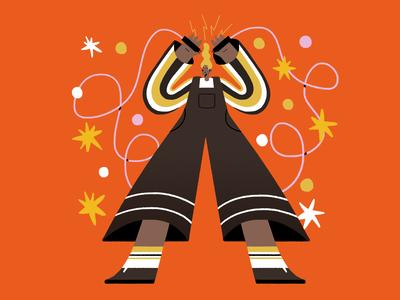 Sparks lighting light star photoshop character shapes illustration textures