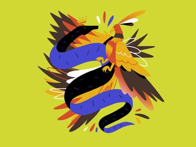 Serpente e Fenix