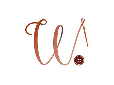 W Icon typography minimal typo logo icon clean corporate branding company branding vector illustration vector art logo a day logo design branding art