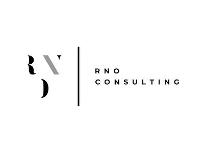 Company Logo Design RNO Consulting typography minimal typo logo icon clean corporate branding company branding ai vector illustration vector art logo a day logo design branding art