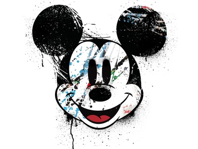 Mick Spray Paint Design