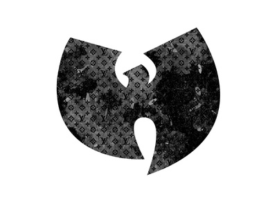 LV Wutang mashup project louis vuitton wutang icon corporate branding company branding ai vector illustration vector art logo a day logo design branding art