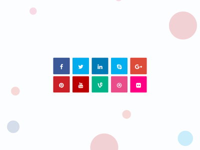 WgBoard Social Icons