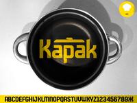 Font Kapak Logo