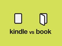 kindle vs book