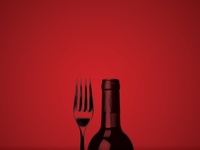 Winery and Restaurant Print Ad