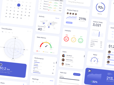 Dashboard Design - Components