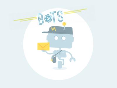 Mail bot bot illustration mail