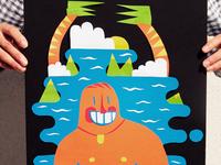 Swimmer collage