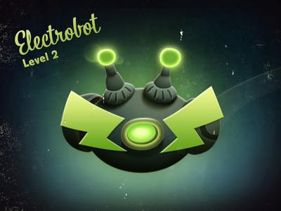 Smart Aliens - Electrobot lvl2