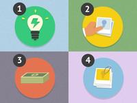 Brainstorming icons – Stormz