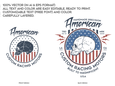 American Custom Racing Motors race riding rider garage builder motorcycles custom handmade