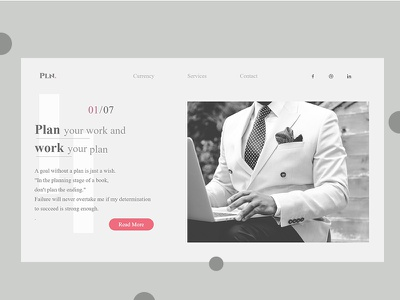 Planning Web UI :: Layout Exploration uidesign organise planning layouts typography systematic  term whitespace white web design ux ui design minimalism minimalistic design clean creative concept