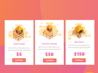 Hotels Onboarding Card Concepts prices card web app animation branding uidesign typography minimal concept design illustration uiux ui price hotels