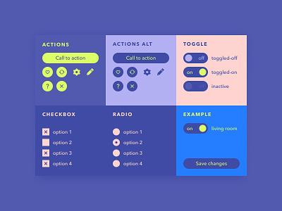 re:DailyUI 083 /// Button check button modular ui 2018 dui daily ui ipad pro dailyui