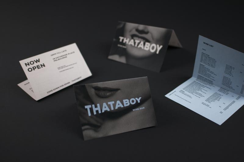 Thataboy Wine Bar wine bar wine logodesign logo leaflet design menu design menu branding concept branding and identity branding brand identity brand design