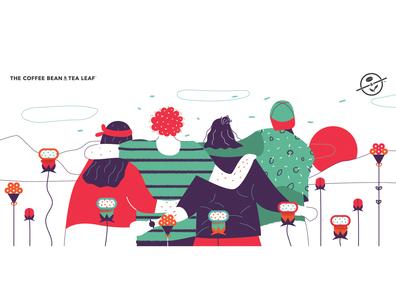 Hug traveling design simple web texture photoshop people minimal illustration flat friends hug