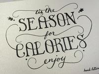 Tis the Season... for Calories