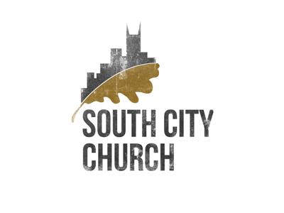 South City Church Logo logo watercolor nashville