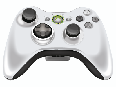 Xbox360 Controller xbox 360 xbox360 illustration controller handcontroll hand illustrator software silver white game vector illustration