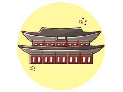 Seoul Flat Design