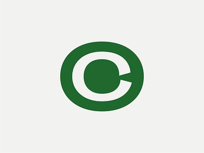 Catherine Long's logo identity typography logo lettermark typogaphy logotype minimal grey green logo branding