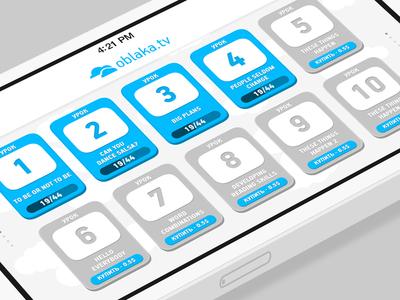 Oblaka.tv Learning App