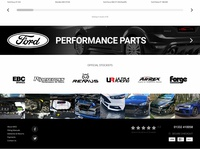 Performance Car Parts eCommerce Concept
